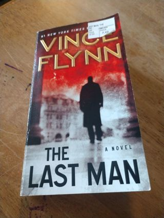 The Last Man by Vince Flynn (paperback)