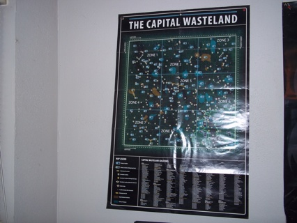 Free: FALLOUT 3 GAME MAP - POSTER - Video Game Accessories - Listia ...