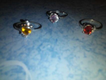 Rings pendants