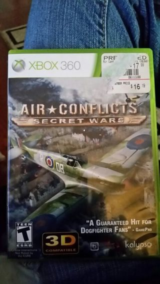 Air Conflicts, xbox 360