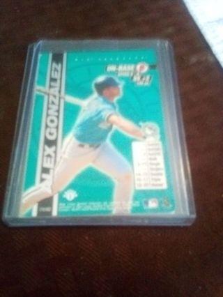 (2) 2000 MLB Showdown 1st Edition #178 Alex Gonzalez