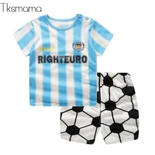Brand Baby Sports Sets Clothing Boy Tracksuit Summer Infantil Clothes Football Costume For Kids 24