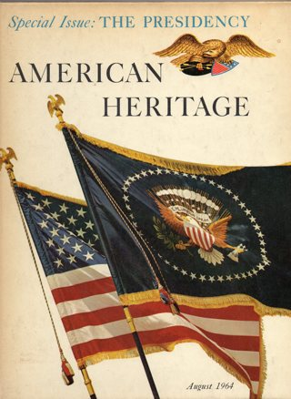 Vintage American Heritage Hard Covered Book: August 1964