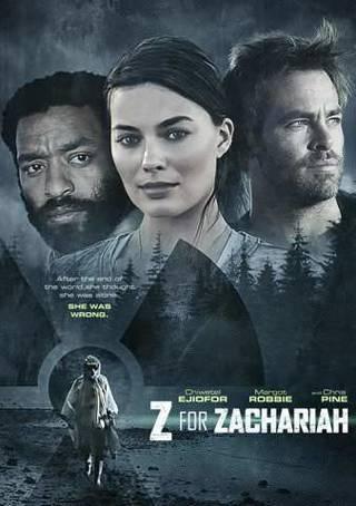 Z for Zachariah- Digital Code Only- No Discs