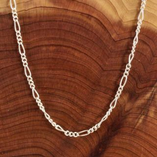 """FIGARO STAMPED S925 CHAIN 20"""""""