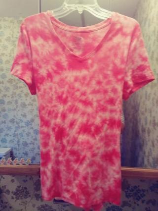 Cool Tie Dye Summer Tee Shirt (XL 16-18)