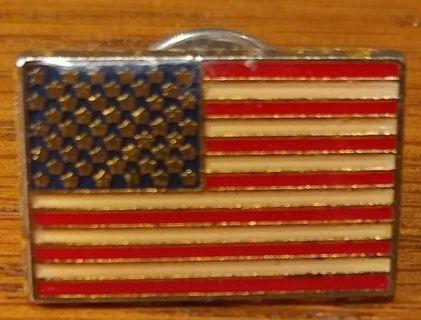 VINTAGE AMERICAN FLAG LAPEL/PIN *FREE SHIPPING* **NO STARTING BID**