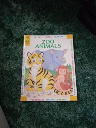 New Brighter Vision Preschool Book Zoo Animals