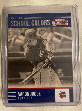 2015 ROOKIE Aaron Judge Fresno State College New York Yankees