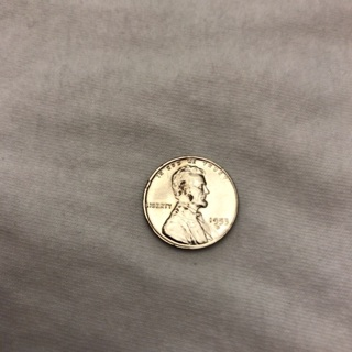 1953D Wheat / Silver Plated