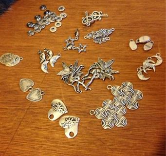 Tibetan Silver lot 50 piece