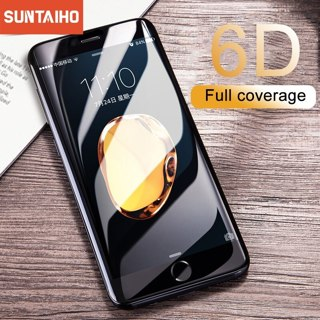 Suntaiho Full Cover 6D Tempered Glass For iPhone 11 Pro X 7 8 6sPlus Screen Protector For iPhone XR