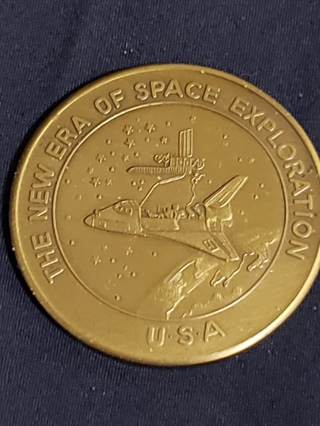 1984 CHALLENGER, STS-11 NASA SPACE BRONZE MEDAL