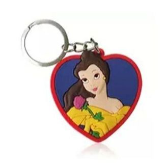 "Bell silicone keychain "" Beauty and The Beast "" NEW free ship"