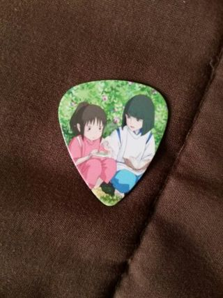 Anime Ghibli Miyazaki's Spirited Away guitar pick