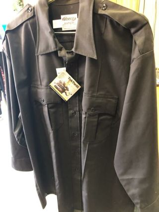Elbeco long sleeve uniform button up shirt ( brand new still in packaging)