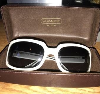 Authentic coach sunglasses- like new