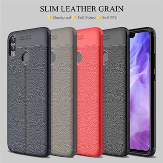 For Huawei Honor Note 10 9 8X Shockproof Rubber Slim TPU Leather Back Case Cover