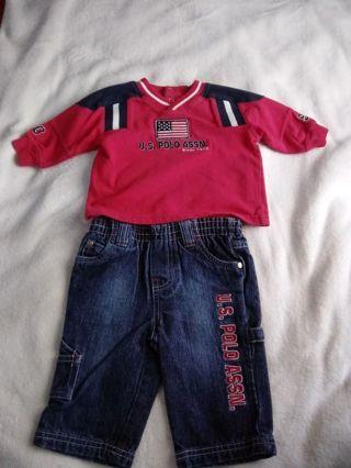 U.S. POLO ASSN. 2 Piece Outfit