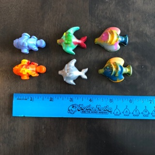 Fish shaped crayons
