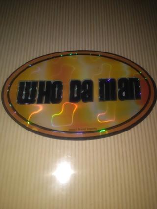 2001 sticker