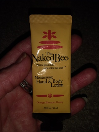 Free: 1 LOTION SAMPLE 'The Naked Bee' Orange Blossom Honey