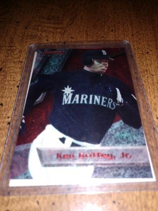 2 Card lot baseball Ken Griffey jr. MLB veteran Seattle Mariners