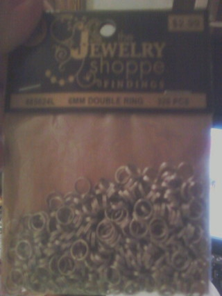320 Count Pack of 6MM Double Rings