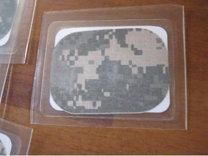 "(5) 3"" x 4"" Source One Tactical military grade Camo patch"