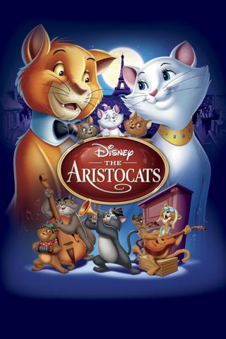 Aristocats (1970) - HD digital movie code Google Play redeem