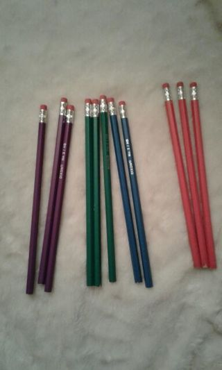 *Lot of School Supplies* Pencil case, Pencils and bookcovers