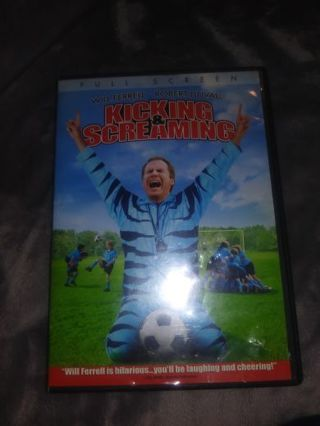 Kicking & Screaming dvd starring Will Ferrell
