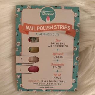 Personail Nail Polish Strips