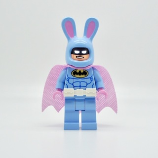 Minifigures Bruce Wayne Heroes Batman Easter Bunny Justice League Building Toys