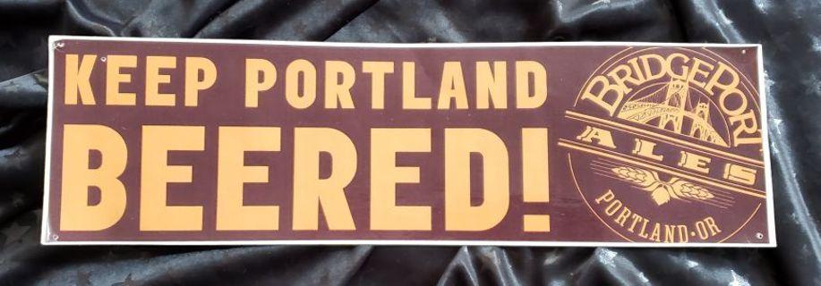 Keep Portland Beered! Bridgeport Ales Bumper Sticker