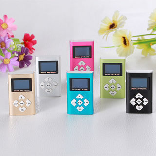 USB Mini Metal MP3 Player LCD Screen Support 8GB Micro SD TF Card For Sprots