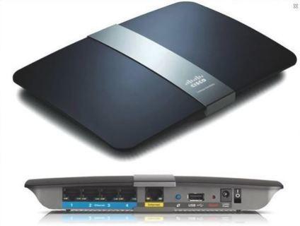 Linksys N900 Wi-Fi Wireless Dual-Band Router Gigabit & USB Ports Smart Wi-Fi App Enabled