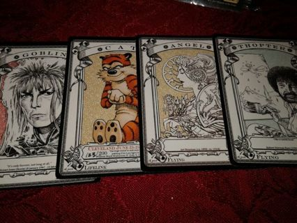MTG *Authentic* Official RK Post Token Cards *SIGNED* FOUR 4x Tokens