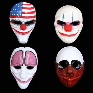 Blast New Halloween Mask Payday2 Theme Mask Game Harvest Day 2 Party Clown Mask