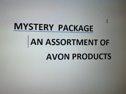 Mystery Package Avon Products and others