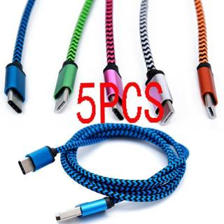 5X USB 3.1 Type C Male to 3.0 Type A Male Sync Data Charger Fast Charging Cable