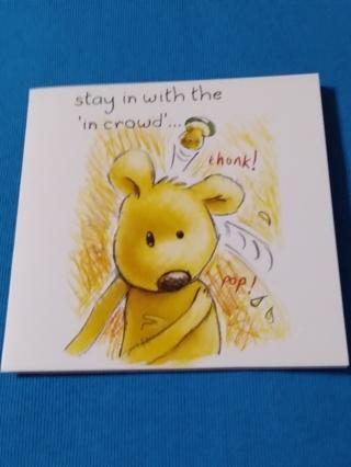 Greeting Card - Crowd Bear