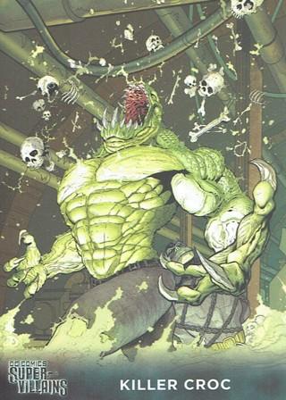 DC Comics Super Villains Collectible Card killer Croc #36