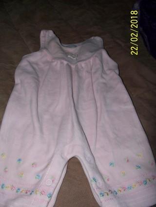Pink girls jumpsuit
