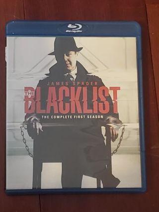 The Blacklist Complete First Season Bluray