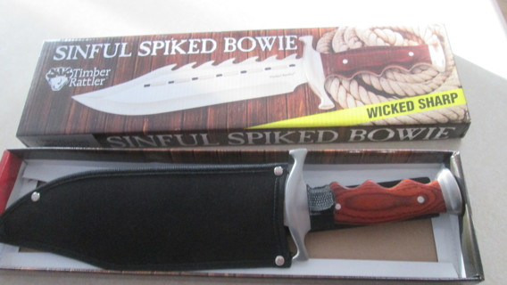 TIMBER RATTLE BOWIE KNIFE,