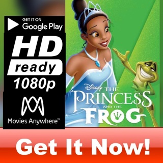 THE PRINCESS AND THE FROG HD GOOGLE PLAY CODE ONLY