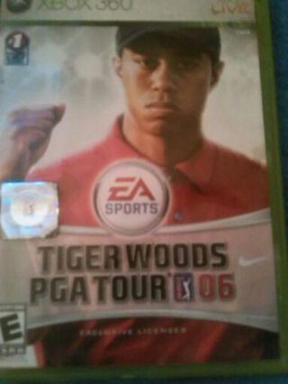 XBOX TIGER WOODS /\ PGA TOUR 06