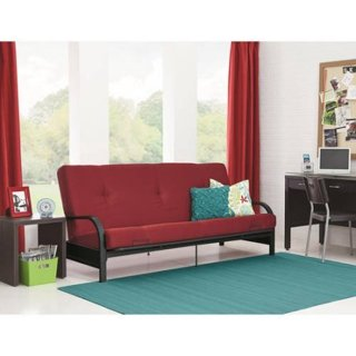 "NEW! Futon with COMFY 6"" Mattress. You choose the Color!"