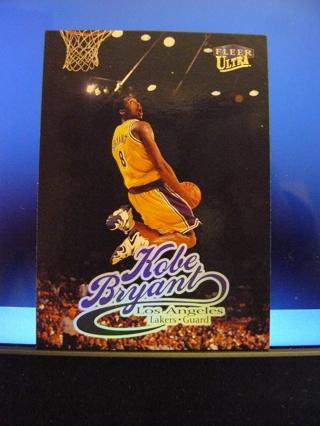 1998-99 Fleer Ultra 61 Kobe Bryant Los Angeles Lakers